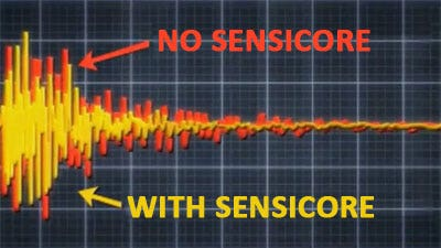 Sensicore – Vibration damper in the shaft